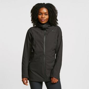 Black Regatta Women's Pulton Waterproof Jacket