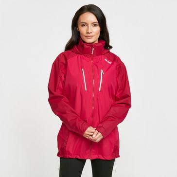 Pink Regatta Women's Calderdale IV Waterproof Jacket