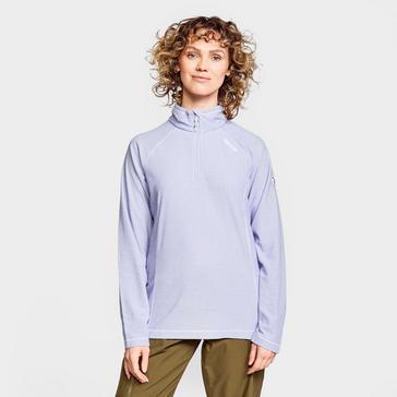 Purple Regatta Women's Montes Half Zip Fleece