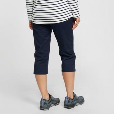 Navy Regatta Women's Maleena Capri Trousers