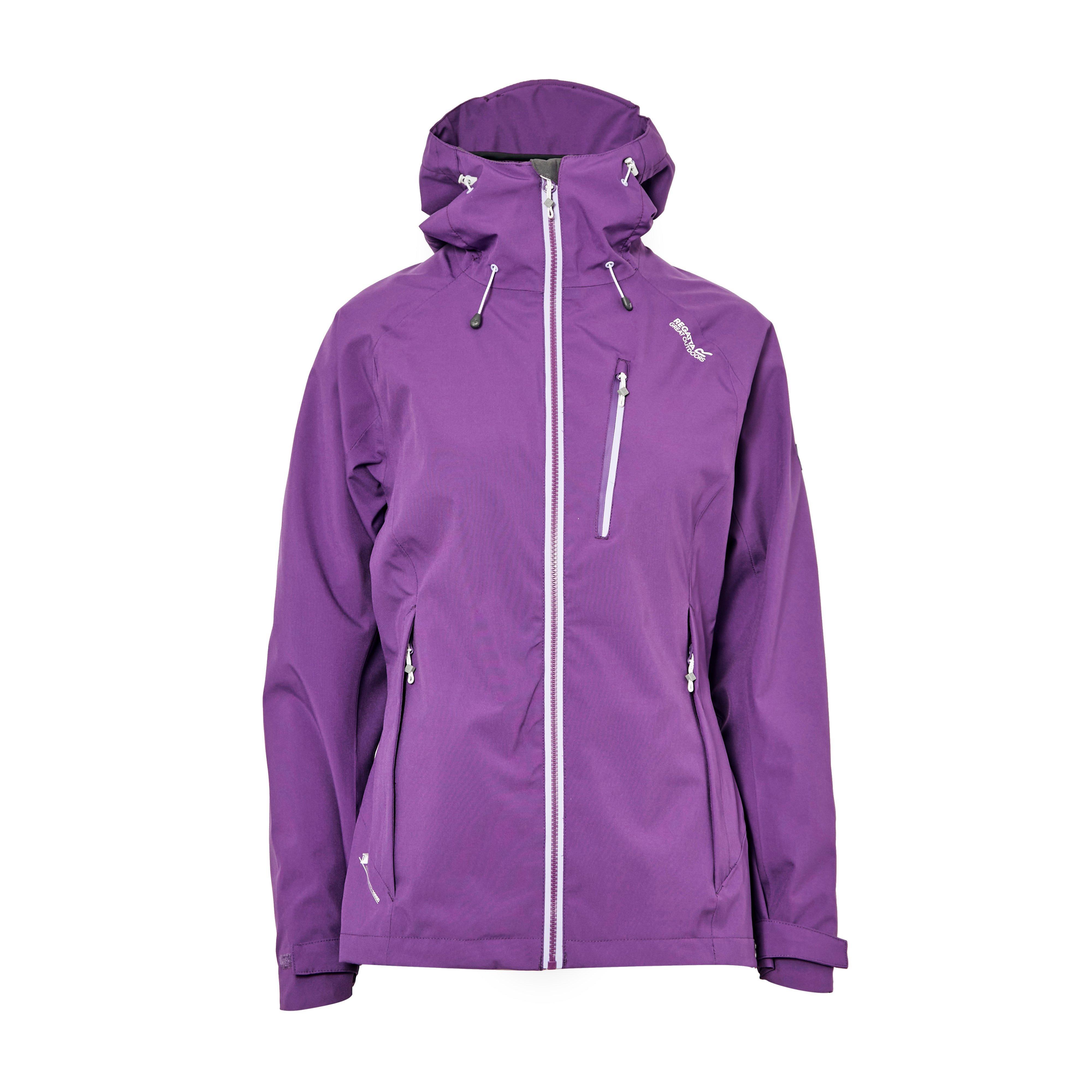 Regatta Women's Birchdale Waterproof Jacket - Purple/Purple, Purple