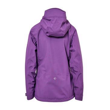PURPLE Regatta Women's Birchdale Waterproof Jacket