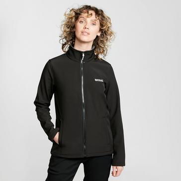Black Regatta Women's Connie V Softshell Jacket