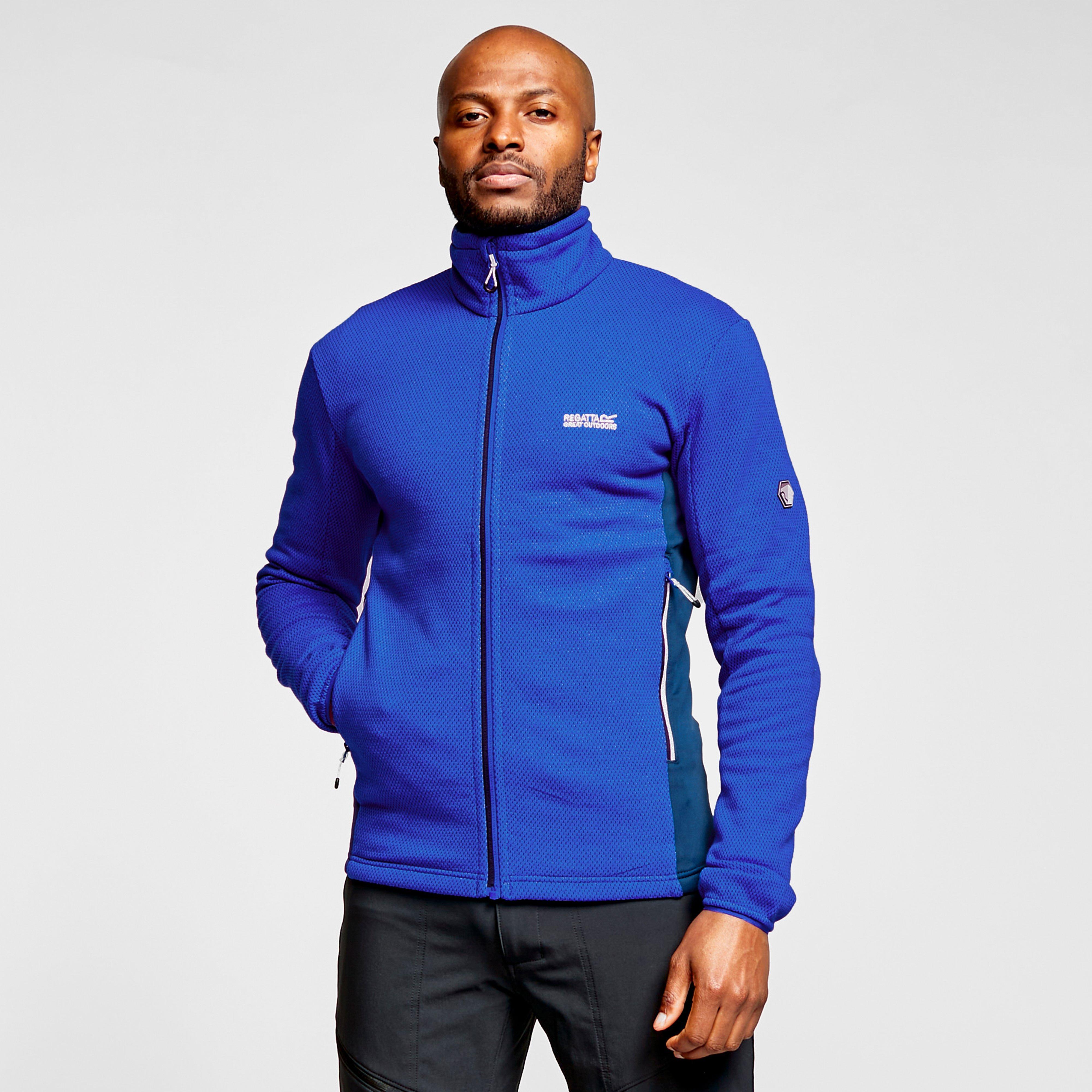 Regatta Men's Highton Fleece Ii - Blue/Blue, Blue