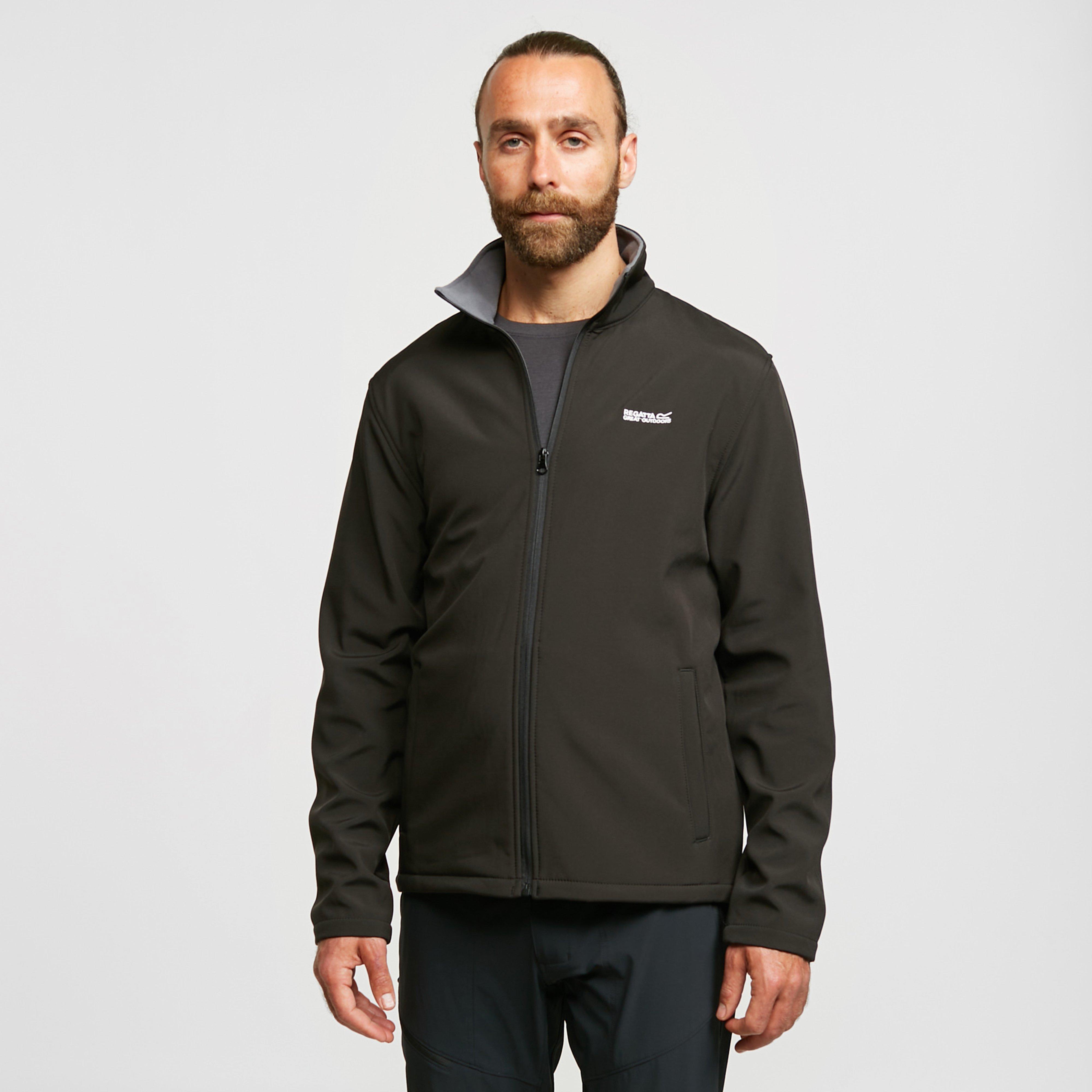 Regatta Men's Cera Iii Softshell Jacket - Black, Black