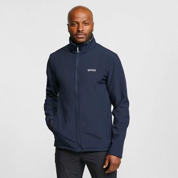 Navy Regatta Men's Cera III Softshell Jacket
