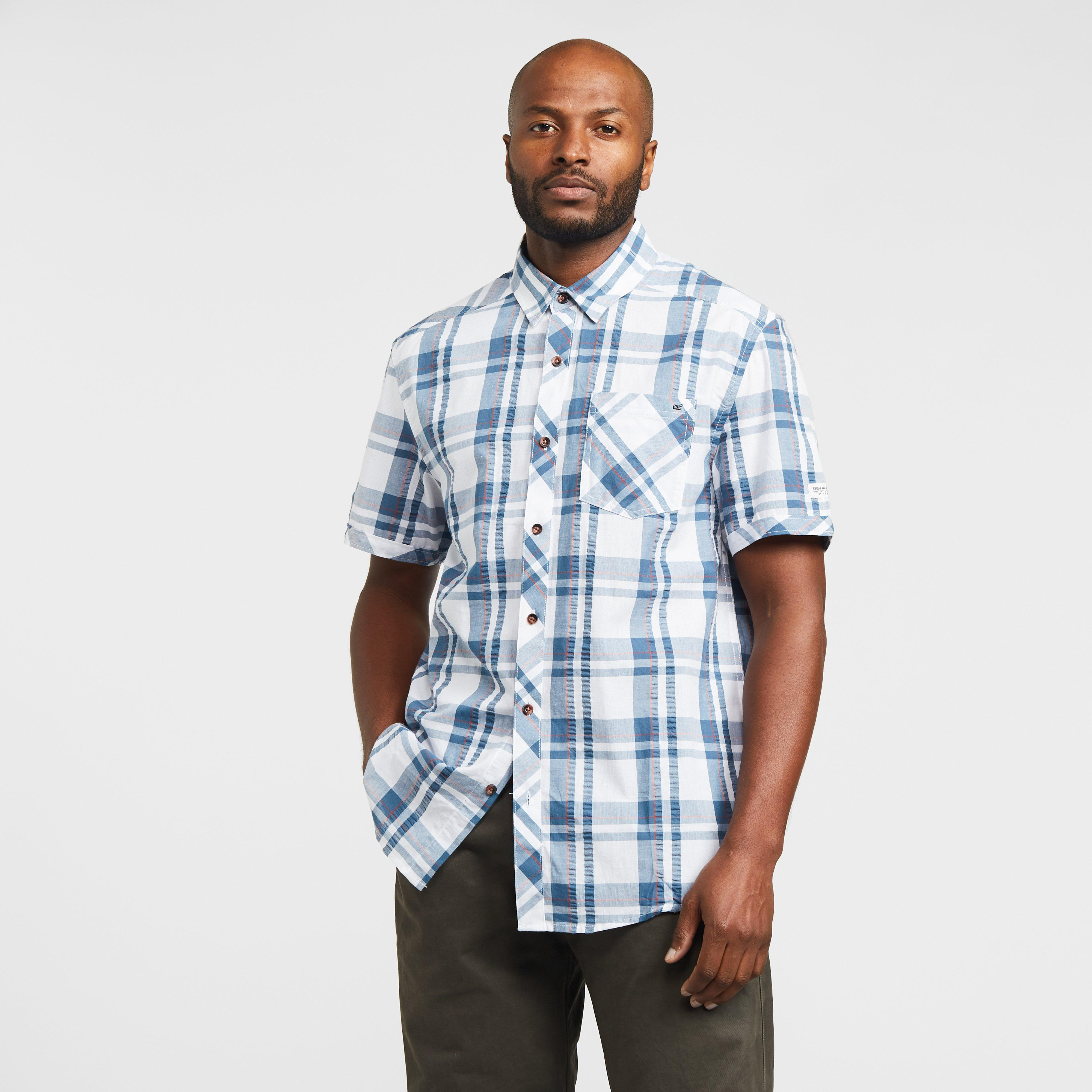 Regatta Men's Deakin Iii Shirt - Blue/Mu, Blue
