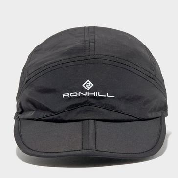 Black Ronhill Sun Split Cap