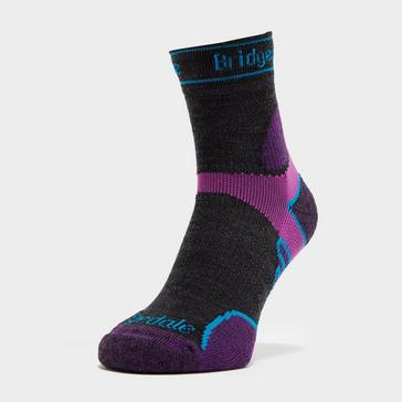Bridgedale Women's Lightweight Merino Performance ¾ Crew Socks