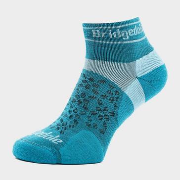 Blue Bridgedale Women's Ultra Light T2 Merino Sport Low Socks