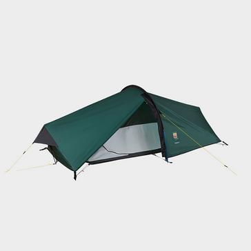 Green WILD COUNTRY Zephyros Compact 2 Tent