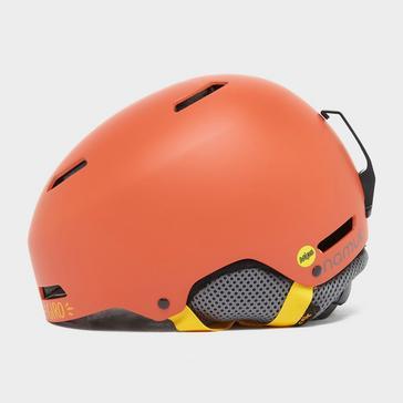Orange GIRO Kids' Crue Mips Helmet