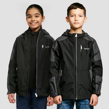Black Regatta Kid's Calderdale II Waterproof Jacket