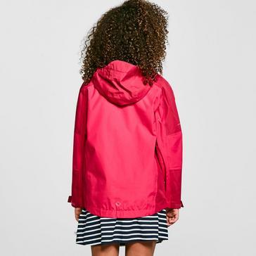 Pink Regatta Kid's Calderdale II Waterproof Jacket