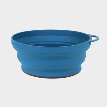 Blue LIFEVENTURE Ellipse Collapsible Bowl