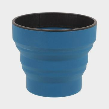 Navy LIFEVENTURE Ellipse Collapsible Cup