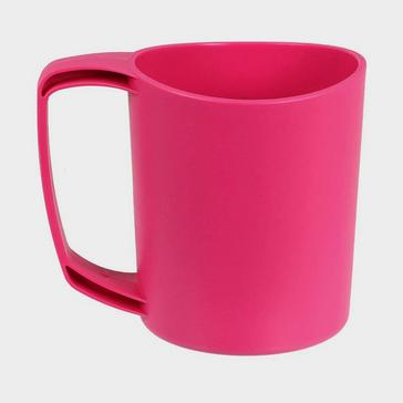 Pink LIFEVENTURE Ellipse Plastic Camping Mug