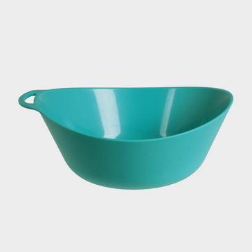 Blue LIFEVENTURE Ellipse Plastic Camping Bowl