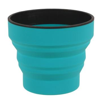 Blue LIFEVENTURE Ellipse Collapsible Cup