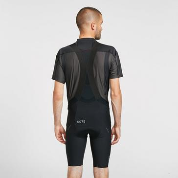 Black Gore Men's Long Distance Bib Shorts+