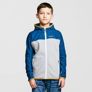 Blue Craghoppers Kids Kacey Hooded Jacket