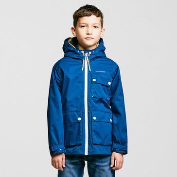 Blue Craghoppers Kids' Finley Waterproof Jacket