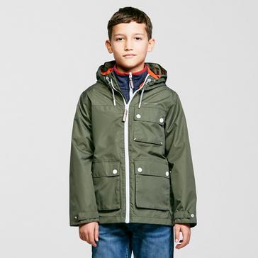 Green Craghoppers Kids' Finley Waterproof Jacket