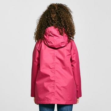 Pink Craghoppers Kids' Marietta Waterproof Jacket