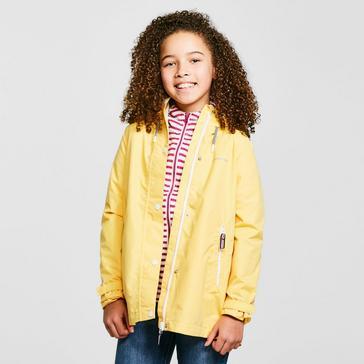 Yellow Craghoppers Kids' Marietta Waterproof Jacket