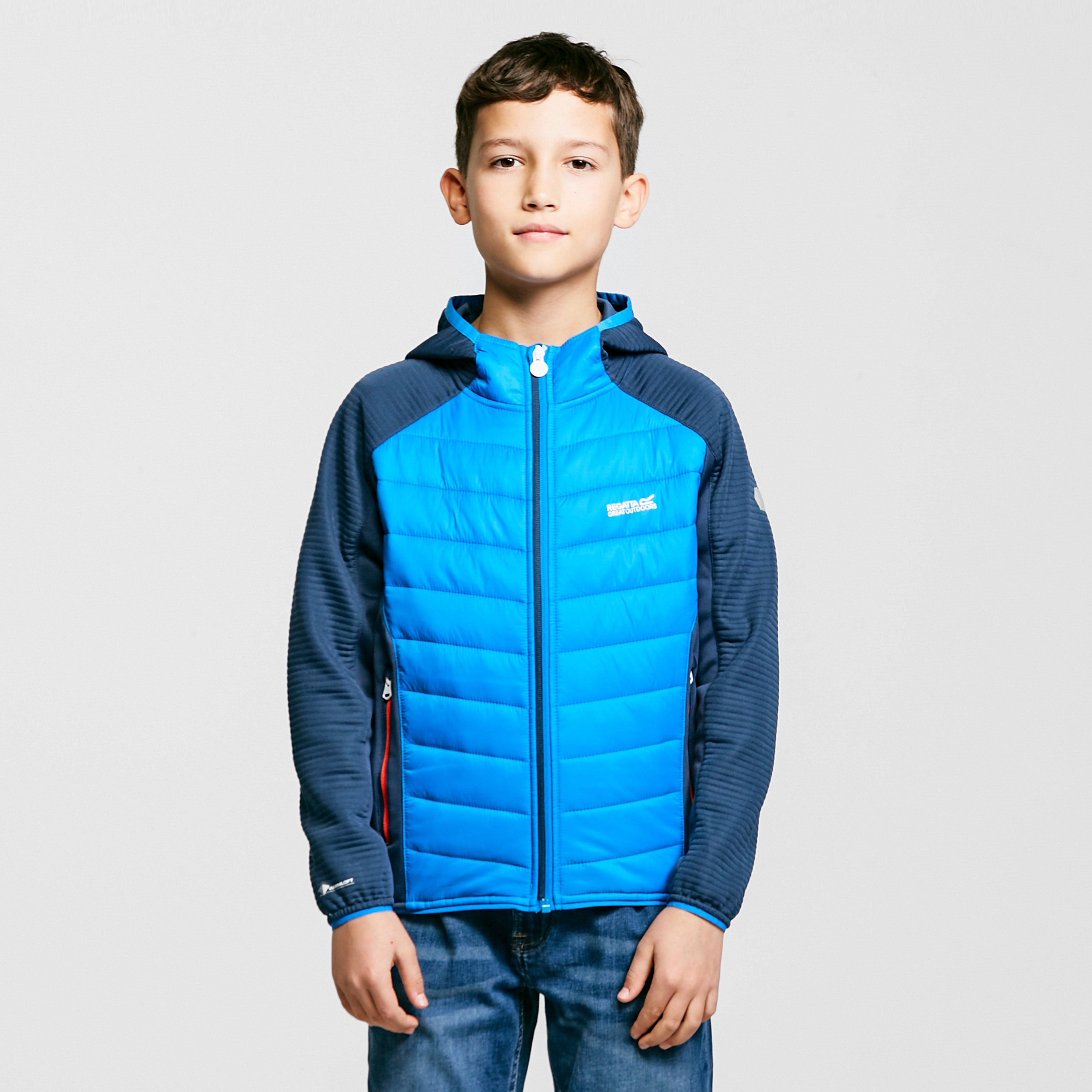 Image of Regatta Kids Kielder Iv Hybrid Jacket - Blue/Blue, Blue/Blue