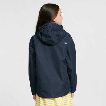 Navy Regatta Kids' Bibiana Waterproof Jacket