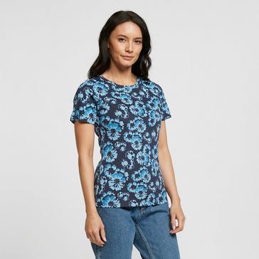 Blue Peter Storm Women's Patsy Flower Short Sleeved Tee