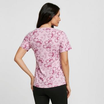 Pink Peter Storm Women's Patsy Flower Short Sleeved Tee