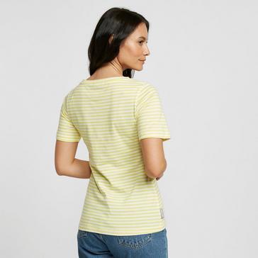 Yellow Peter Storm Women's Angel Short Sleeved Tee