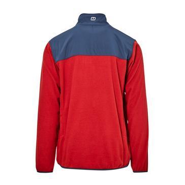 Red Berghaus Men's Kyberg Polartec Fleece