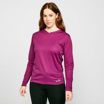 Purple Peter Storm Women's Long Sleeve Balance T-Shirt