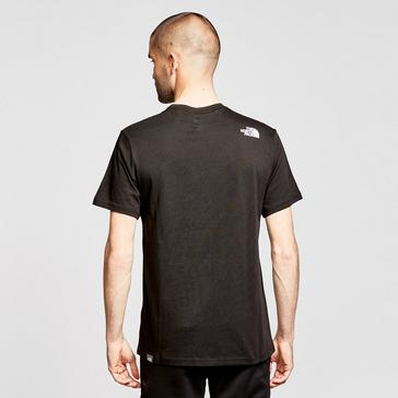 Black The North Face Men's Biner 1 T-Shirt
