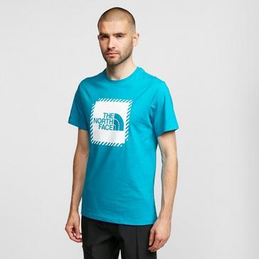 Blue The North Face Men's Biner 2 Short Sleeve T-Shirt