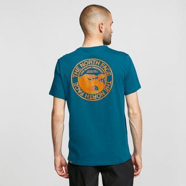Blue The North Face Men's Biner 3 T-Shirt
