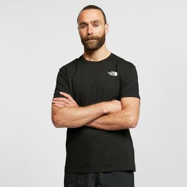 Black The North Face Men's Biner 4 T-Shirt