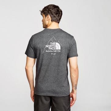 Grey The North Face Men's Biner 4 T-Shirt