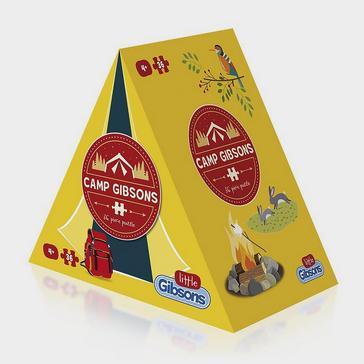 yellow Gibsons Kids' Camping Jigsaw