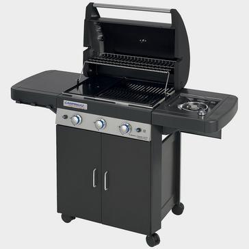 Black Campingaz 3 Series Classic LS Black Gas Barbecue