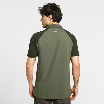 green KLOBBA Men's Raglan Polo Shirt