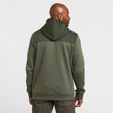 black KLOBBA Men's Full-Zip Hoodie