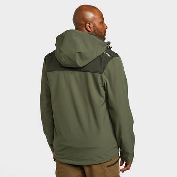 green KLOBBA Men's Softshell Jacket