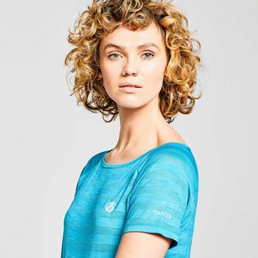 GREEN Dare 2B Women's Defy Short-sleeve T-shirt