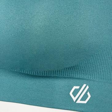 Blue Dare 2B Women's Don't Sweat It II Medium Impact Sports Bra
