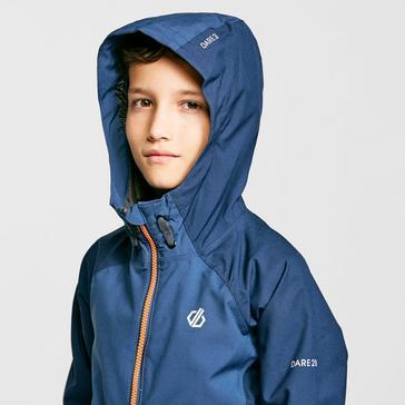 Navy Dare 2B Kids' In The Lead II Waterproof Jacket