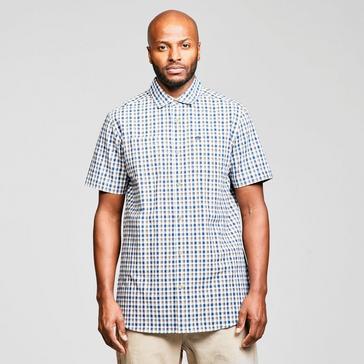 Blue Craghoppers Men's Nour Short Sleeve Shirt
